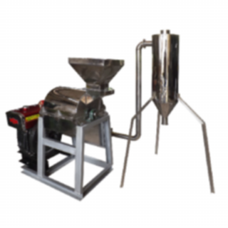 Mesin Penepung Kedelai With Cyclone (Hammer Mill With Cyclone) Material Stainless Steel